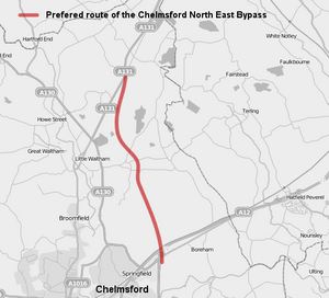 Chelmsford North East Bypass