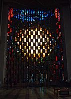 Coventry Cathedral Baptistry window