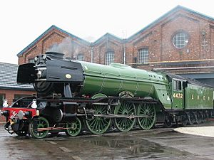 Flying Scotsman in Doncaster