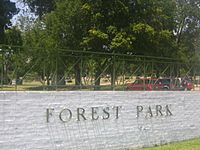 Forest Park Cemetery entrance, Shreveport, LA IMG 1394
