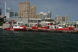 Toronto fireboats Sora and William Lyon Mackenzie -a
