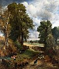 Constable - The Cornfield