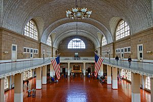 Ellis Island - Great Hall