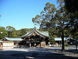 Ichinomiya takes its name after Masumida Shrine