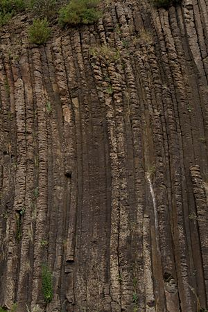 Organ Pipes National Park - Hexagonal Basalt Formations