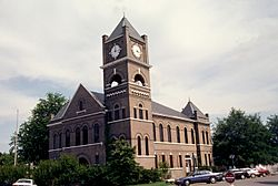 Tallahatchie County Courthouse in Sumner