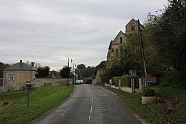 The road into Luys
