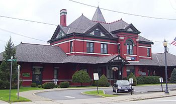 Erie Depot Port Jervis entrance
