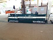 Glendale-Sahuaro Central Railroad Museum-MLS engine-2