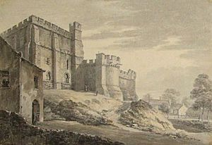 Lancaster Castle from the South West 1778