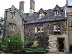 Old library St Edmund Hall