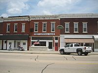 Tampico Il Main St Hist Dist Reagan Birthplace1