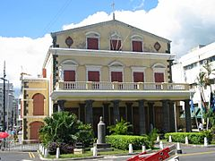 Theater in Port-Louis, Mauritius