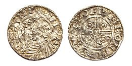England AR penny pointed helmet type Canute the Great Chichester mint