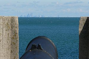 Fort Niagara aiming at Toronto