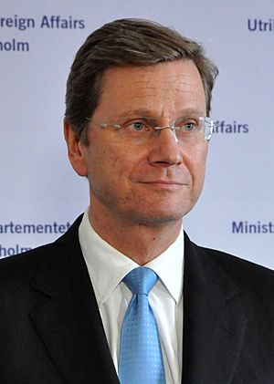 Guido Westerwelle (Foreign ministry in Stockholm, 2010)