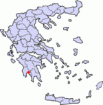 Kalamata map