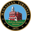 Official seal of Manassas, Virginia