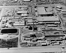 Rocky Flats Plant - Aerial View 001