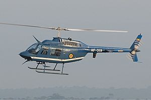Uganda People's Defence Force Air Wing Bell 206B JetRanger II MTI-1