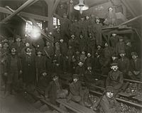 Breaker Boys in Coal Mine South Pittston Pennsylvania by Lewis Hine