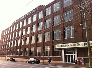 Chattanooga Times Free Press office
