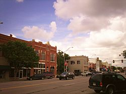 Main Street downtown Broken Arrow Oklahoma