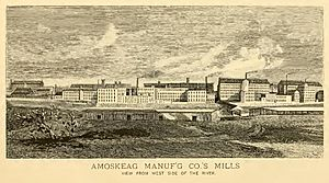 Amoskeag Manufactoring Co.'s Mills (IA manchesterbriefr00cla) (page 35 crop)