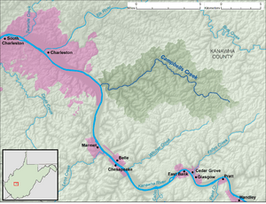 Campbells Creek WV map.png