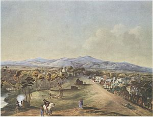 North Terrace, 1841