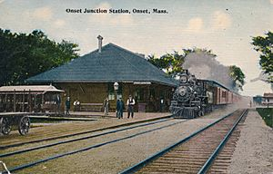 Onset Junction Station, Onset, Mass. - ca. 1913