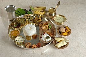 Vegetarian Andhra Meal