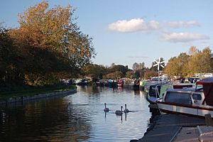 White Bear Marina, on the Leeds and Liverpool Canal, Adlington, Chorley, Lancashire. - geograph.org.uk - 370555