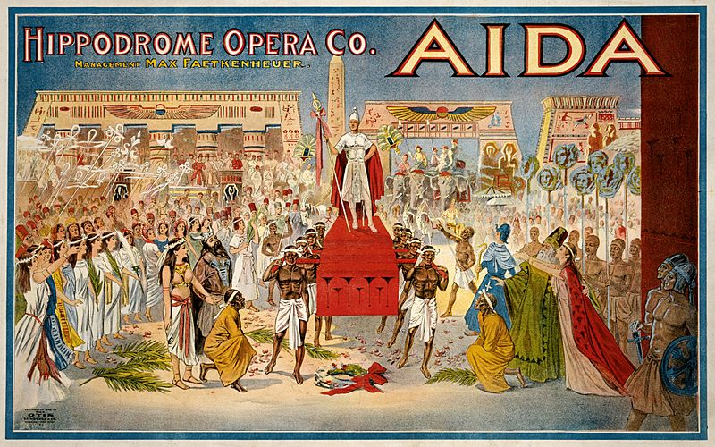 Aida poster colors fixed