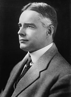 Albert Ritchie, photo portrait head and shoulders