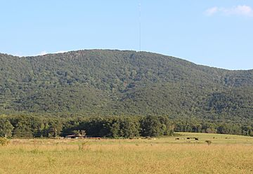 Bear Mountain, Cherokee County, Georgia in August 2015.jpg