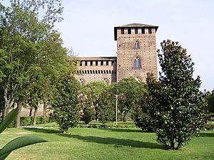 Castello Visconteo-Pavia-Italy