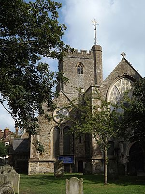 Church of St Mary and St Eanswythe, Folkestone 01