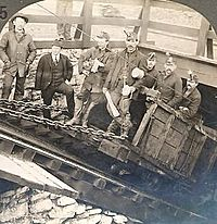 Coal miners in Hazleton PA 1900