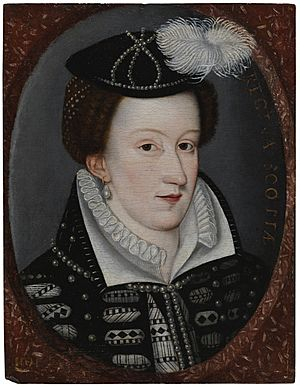 Mary Queen of Scots portrait
