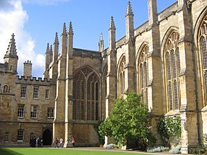 New College Oxford chapel