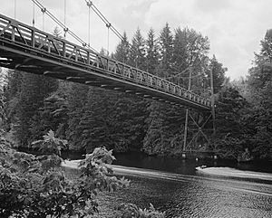 Yale Bridge, State Route 503 Spanning Lewis River, Yale vicinity (Cowlitz County, Washington)