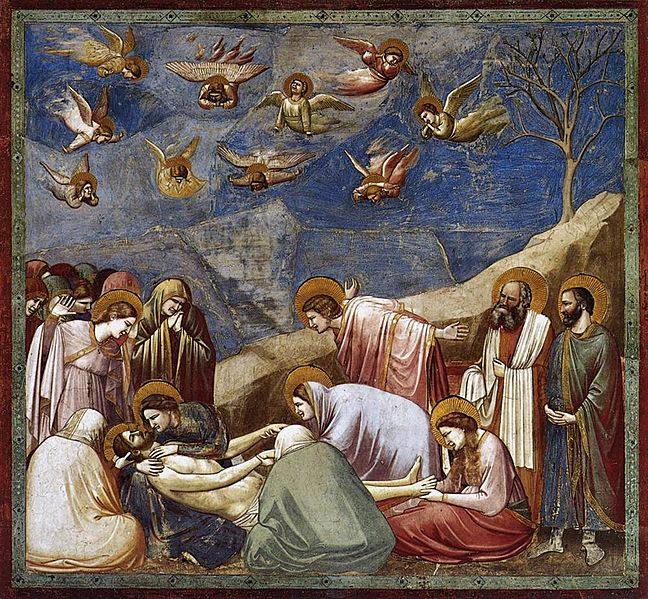 Giotto - Scrovegni - -36- - Lamentation (The Mourning of Christ)