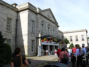 RDS Dublin 2008 - main entrance