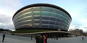 SSE Hydro in Glasgow