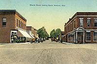 Church Street, looking South in Amherst, Ohio, 1910s.jpg