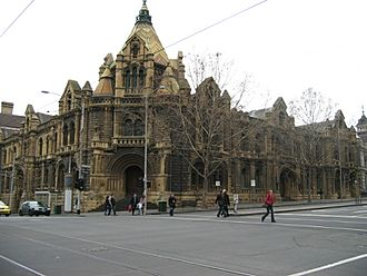 RMIT Building 20 (Former Melbourne Magistrates' Court)