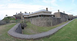 Fort Scratchley in Newcastle