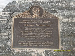James Cameron plaque in Chippawa - panoramio