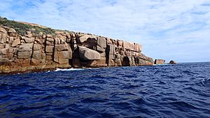 Northern anchorage of Pearson Island, Investigator Group Conservation Park, South Australia